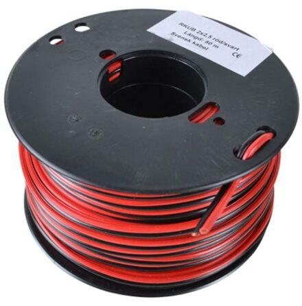 Kabel RKUB 2 x 2,5 mm Rulle 50 Meter