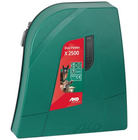 Elstängselaggregat AKO Duo Power X 2500 - 12 & 230 Volt *
