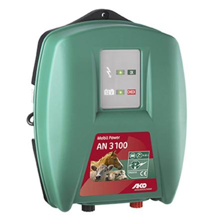Elstängselaggregat AKO Mobil Power AN 3100 - 12 Volt