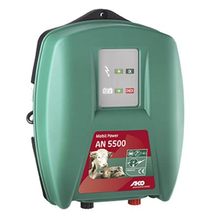 Elstängselaggregat AKO Mobil Power AN 5500 - 12 Volt *