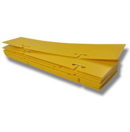 Eltrådsmarkering 10-pack diam. 50 x 200 mm