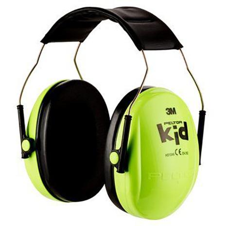 Hörselskydd Peltor Kid - Neongrön