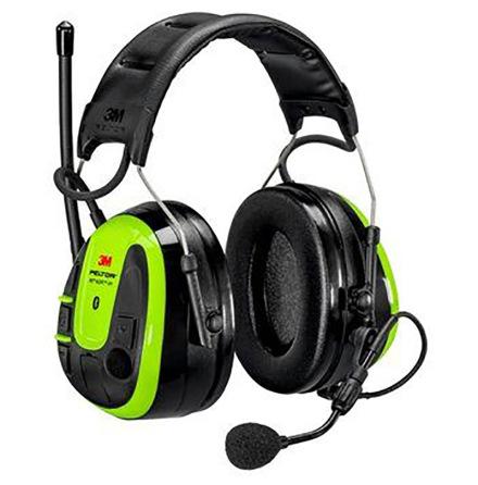 Hörselskydd med hjässbygel Peltor WS Alert XPI 2 x blåtand, radio, medhörning