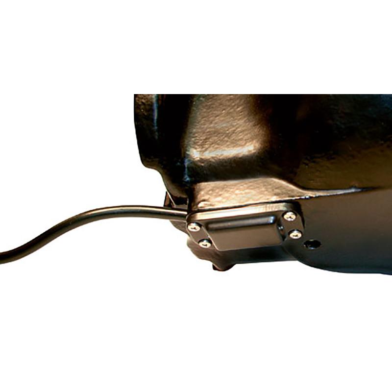Elvattenkopp H10 - 80 Watt Rörventil - Eluppvärmd 24 Volt