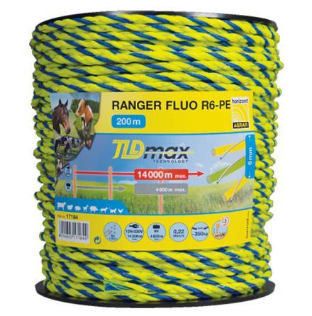 Elrep Horizont Ranger R6 FLUO 200 Meter. 0,22 Ohm/m