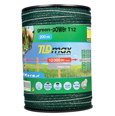Elband Horizont Green-Power T12 200 Meter. 0,35 Ohm/m