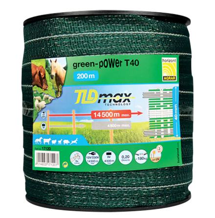 Elband Horizont Green-Power T40 200 Meter. 0,20 Ohm/m