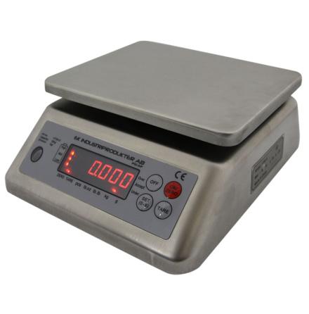 Bänkvåg Vattentät Ek Industriprodukter 6 kg *