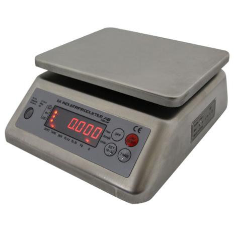 Bänkvåg Vattentät Ek Industriprodukter 15 kg *