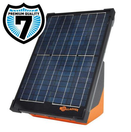 Elstängselaggregat Gallagher S200 inkl batteri och solpanel