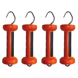 Grindhandtag Gallagher Soft-Touch Orange 4-pack