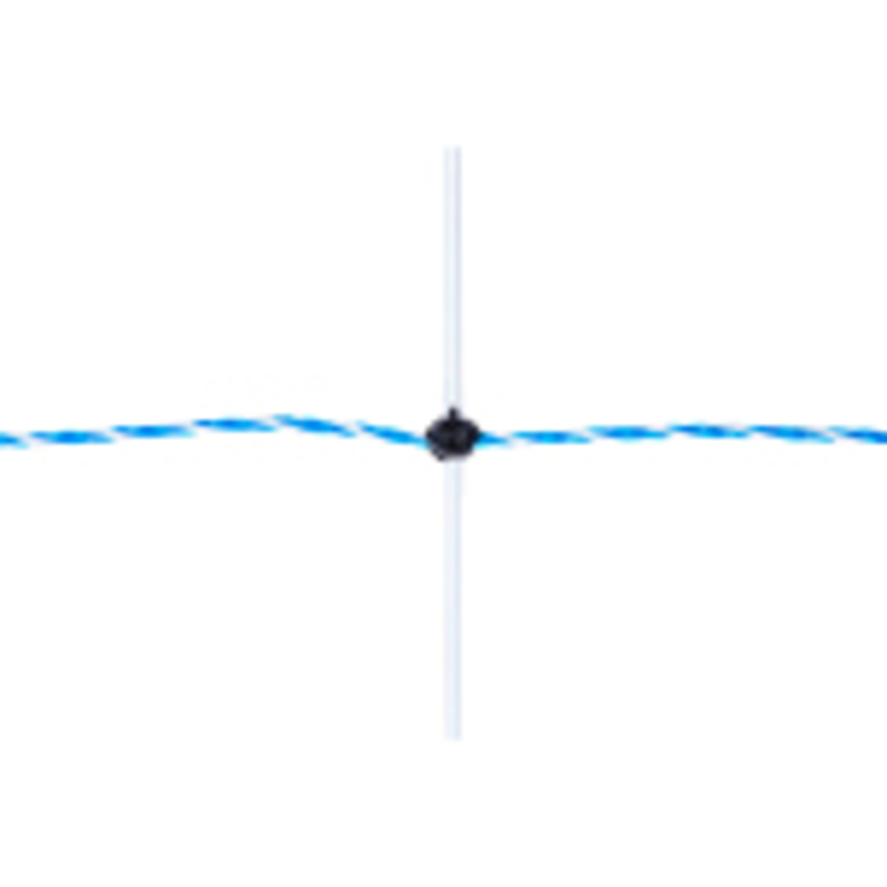 Elnät Får / Vargnät 108 cm Dubbelspets Plus/Minus Nät 50 Meter