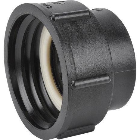 """IBC-Adapter 60 x 6 (Hona). Rörgänga 1 1/2"""" (R40) * Invändig gänga (Hona)"""