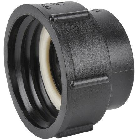 """IBC-Adapter 60 x 6 (Hona). Rörgänga 2"""" (R50) * Invändig gänga (Hona)"""