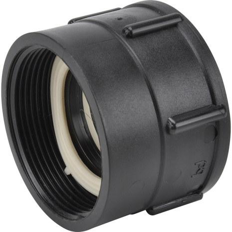 """IBC-Adapter 100 x 8 (Hona). Rörgänga 2"""" (R50) * Invändig gänga (Hona)"""