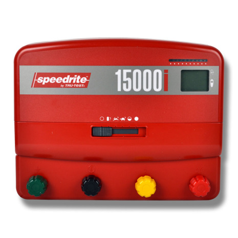 Elstängselaggregat Speedrite 15000i - 230 Volt & 12 Volt