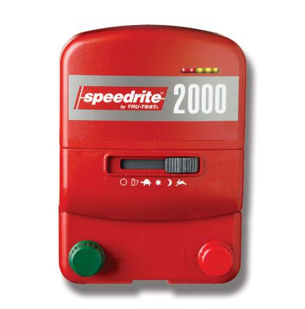 Elstängselaggregat Speedrite 2000 - 230 Volt & 12 Volt *