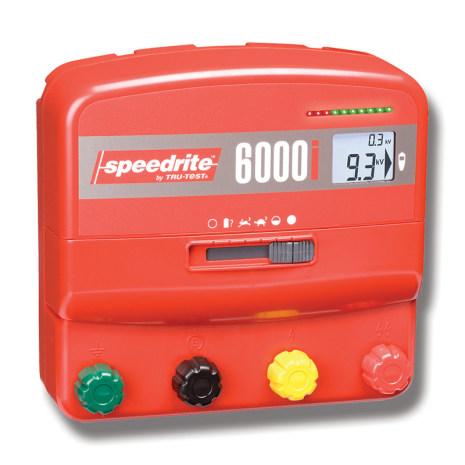 Elstängselaggregat Speedrite 6000i - 230 Volt & 12 Volt *
