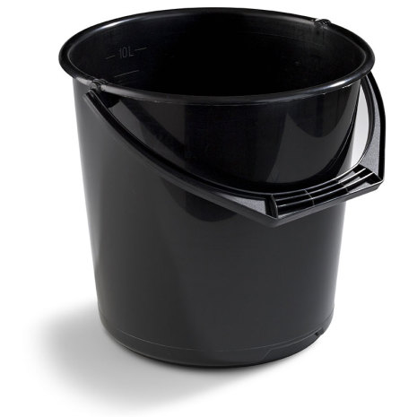 Hink 10 liter Nordiska Plast - Svart