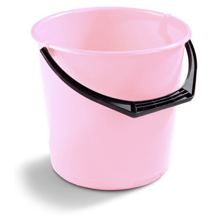 Hink 10 liter Nordiska Plast - Rosa