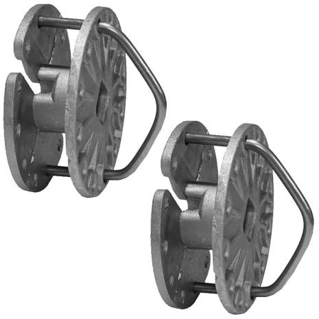 Trådspännare Hjul Pro+ Stabil 2-pack