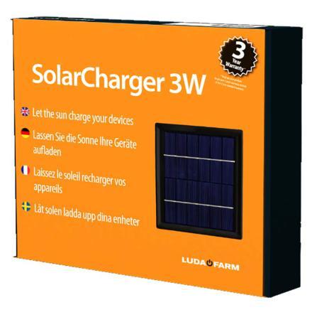 Solpanel 3 Watt till 20-014 Luda FenceAlarm