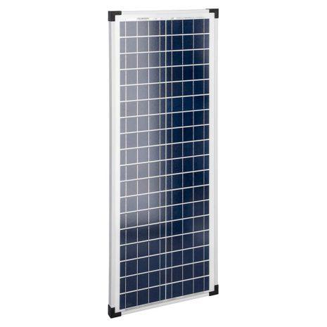 Solpanel 45 Watt 12 Volt inkl laddningsregulator Komplett med batteriklämmor