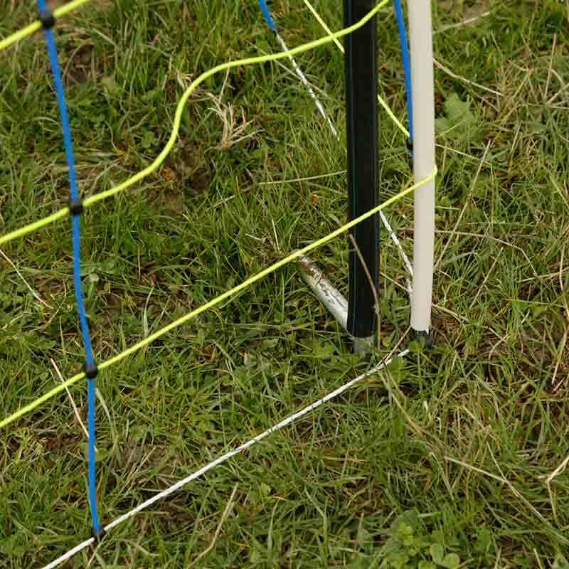 Stödstolpe 120 cm för Fårelnät (Flera förpackningsstorlekar)