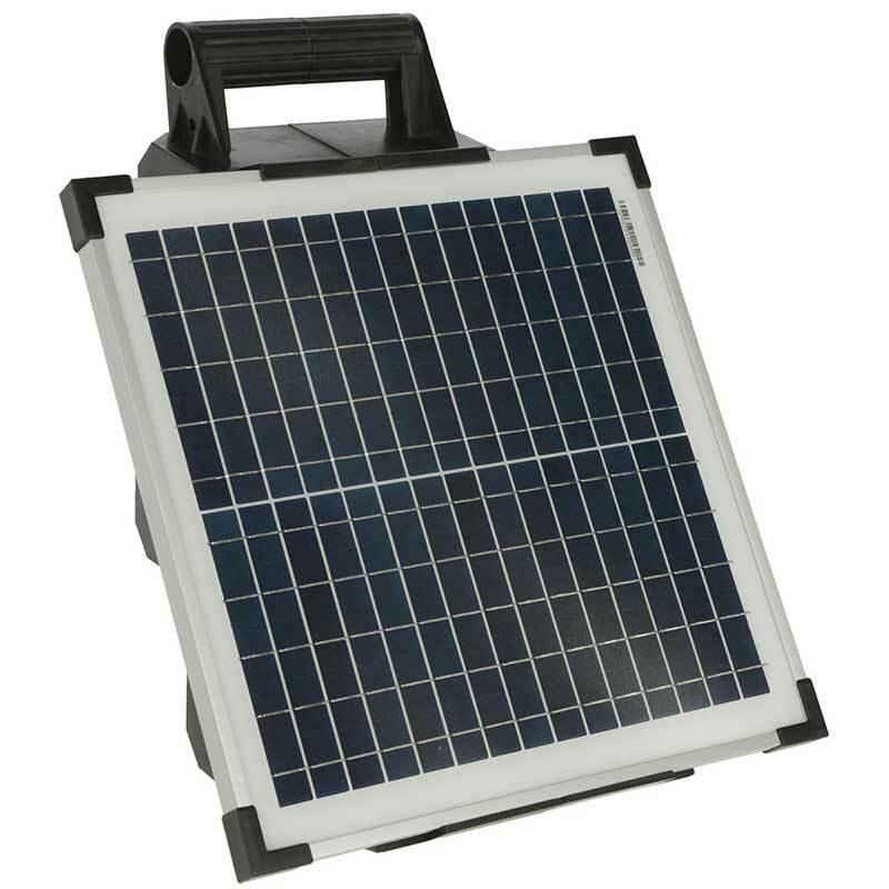 Elstängselaggregat AKO Sun Power S1500 inkl Solpanel 15 Watt