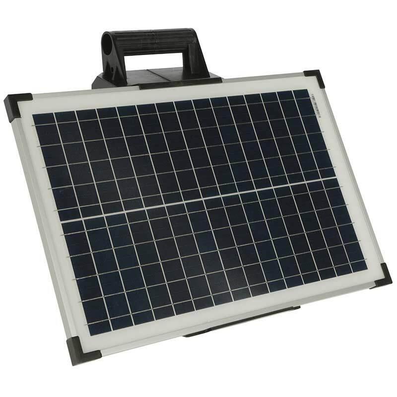 Elstängselaggregat AKO Sun Power S3000 inkl Solpanel 25 Watt