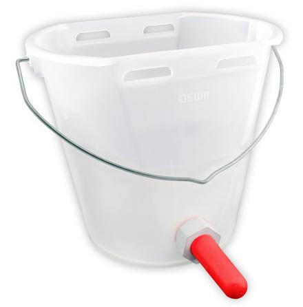 Kalvbar 8 liter Vit/Transparent - Standard