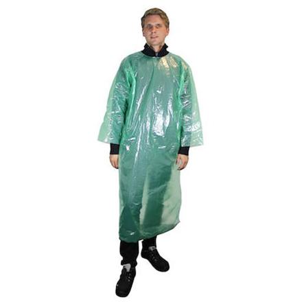 Veterinärrock 10st/fp Worksafe PE visitor coat
