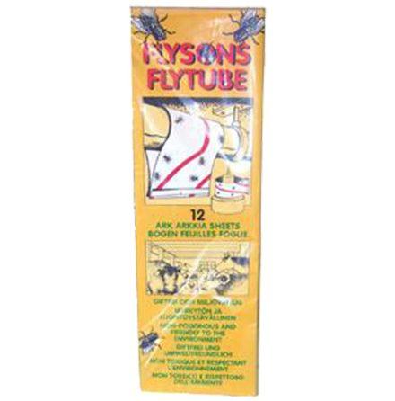 Flugpapper FLYSON Fly Tube 32 x 10 cm 12-pack